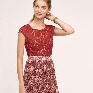 NEW-Anthropologie Tracy Reese Arcadia  Dress Sz 4